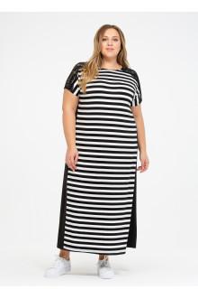 """Платье """"Её-стиль"""" 110200201 ЕЁ-стиль (Чёрный)"""