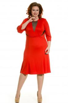 Платье 426 Luxury Plus (Рябиновый)
