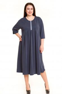 Платье 685 Luxury Plus (Темно-синий)