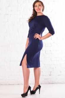 Платье 072204 ЛаТэ (Темно-синий)