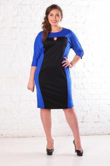 Платье 070904 ЛаТэ (Васильковый)