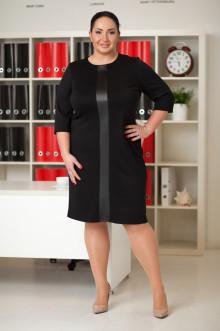 Платье 032301 ЛаТэ (Черный)