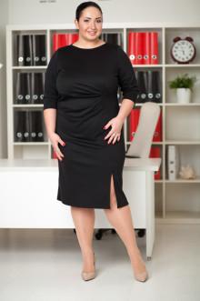 Платье 032201 ЛаТэ (Черный)