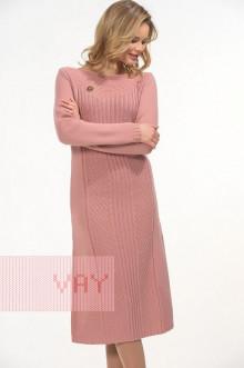 Платье женское 2263 Фемина (Темно-розовая дымка)